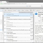 zimbra webmail - butonul de arhivare